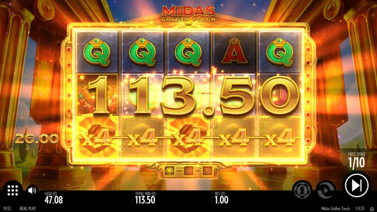 Midas Golden Touch Video Slot
