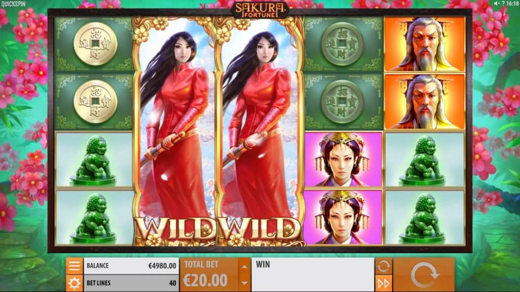 sakure fortune video slot