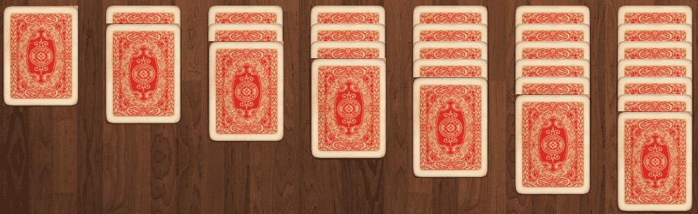 pasjans kaarten delen