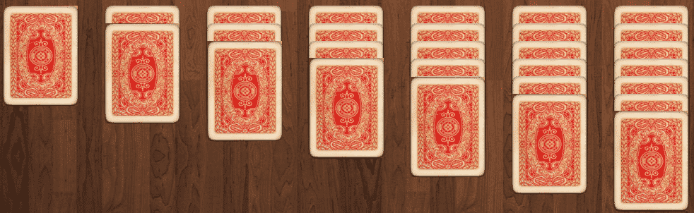pasjans shuffle cards