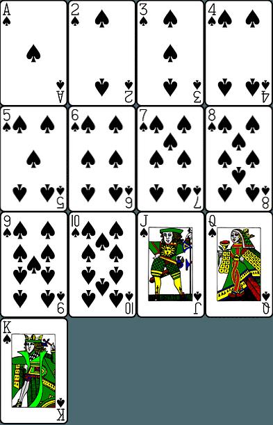 pasjans spades